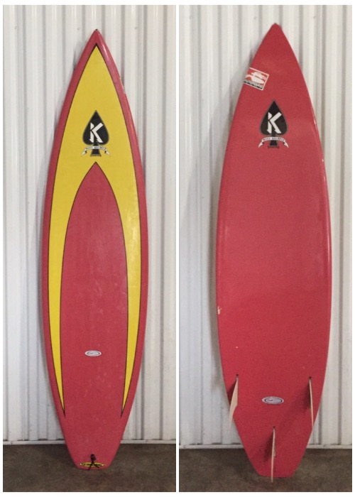 "6'0"" Matt Kechele shortboard - Hawaii Surfboard Rentals"