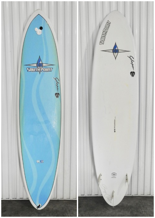 "7'6"" South Point 'Bonga Model' - Hawaii Surfboard Rentals"
